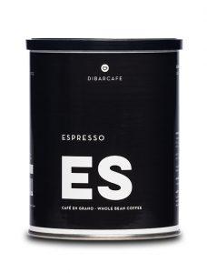 Espresso grano llauna