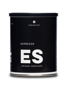 Espresso molido llauna