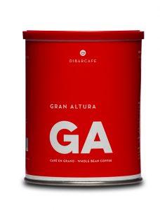 Gran Altura grano llauna